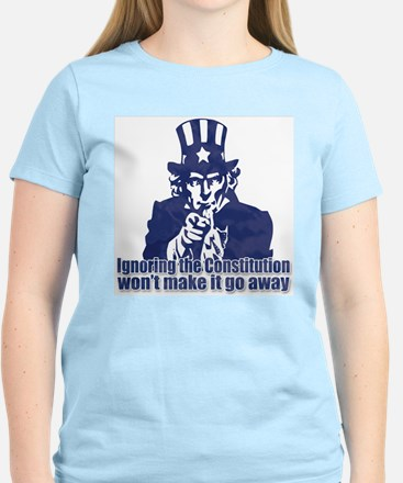 Don't Ignore the Constitution Women's Light T-Shir