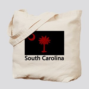 Gamecock Flag Tote Bag