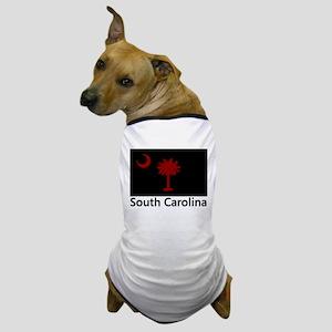 Gamecock Flag Dog T-Shirt