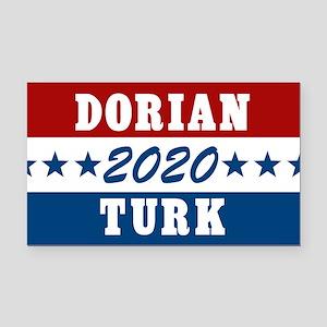 Scrubs Vote Dorian/Turk 2020 Rectangle Car Magnet