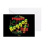 Reggae Reggae Reggae Greeting Card