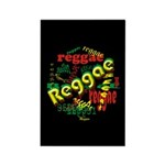 Reggae Reggae Reggae Rectangle Magnet (100 pack)