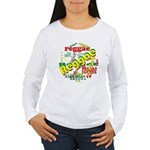 Reggae Reggae Reggae Women's Long Sleeve T-Shirt