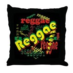 Reggae Reggae Reggae Throw Pillow