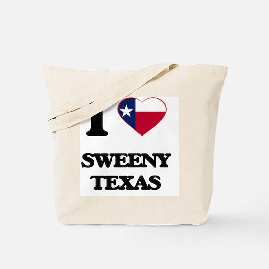 I love Sweeny Texas Tote Bag