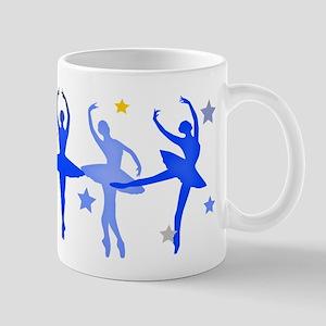 Blue Ballet Large Mugs