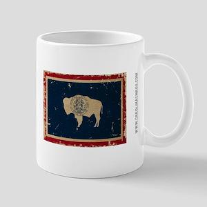 Wyoming State Flag VINTAGE Mugs