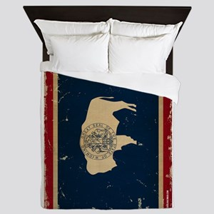 Wyoming VINTAGE Queen Duvet