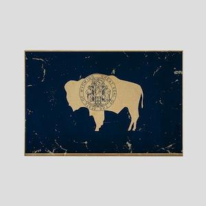 Wyoming Flag VINTAGE Magnets