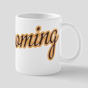 Wyoming Script Font Mugs