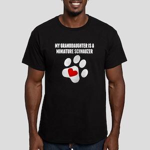 My Granddaughter Is A Miniature Schnauzer T-Shirt