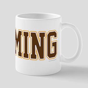 Wyoming Jersey Brown Mug