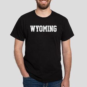 Wyoming Jersey White Dark T-Shirt