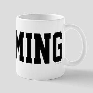 Wyoming Jersey Black Mug