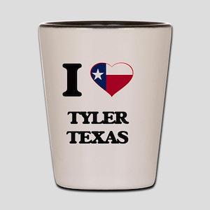 I love Tyler Texas Shot Glass
