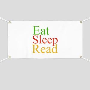 Eat Sleep Read Banner