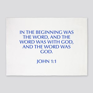 In the beginning was the Word and the Word was wit