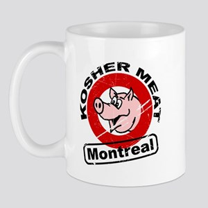 Kosher Meat Pig - Montreal Mug