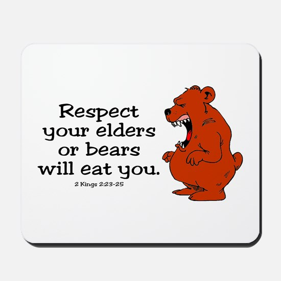 Respect Elders Mousepad