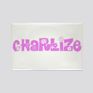 Charlize Flower Design Magnets