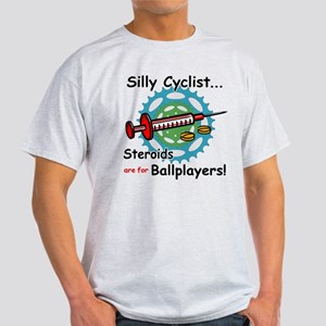 Anti-Steroid Cycling/Biking Light T-Shirt