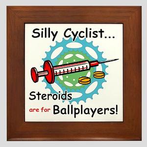 Anti-Steroid Cycling/Biking Framed Tile