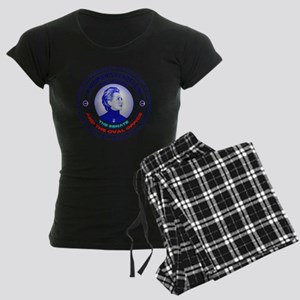 A Woman's Place is in the Ho Women's Dark Pajamas