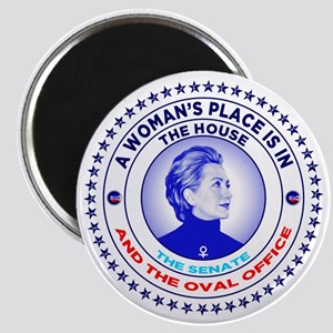 A Woman's Place is in the House the Senate  Magnet