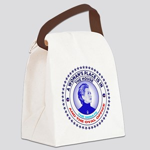 A Woman's Place is in the House t Canvas Lunch Bag
