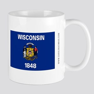 Wisconsin State Flag Mugs