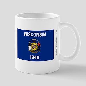 Wisconsin State Flag Mugs