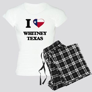 I love Whitney Texas Women's Light Pajamas