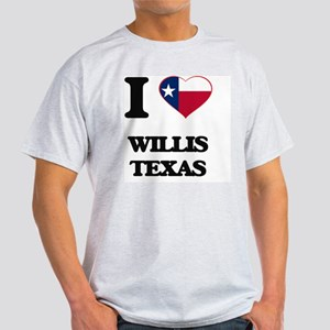 I love Willis Texas T-Shirt