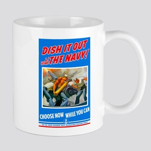 Choose Navy Mug