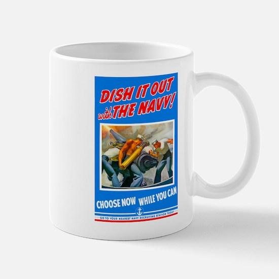 Choose Navy Mug