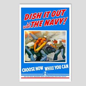 Choose Navy Postcards (Package of 8)