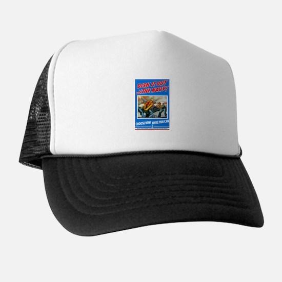 Choose Navy Trucker Hat