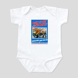 Choose Navy Infant Bodysuit