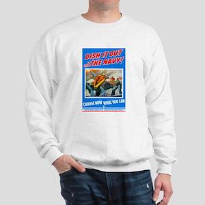 Choose Navy (Front) Sweatshirt