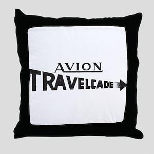 Old Travelcade Logo Final A Throw Pillow