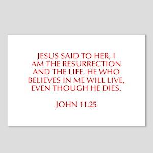 Jesus said to her I am the resurrection and the li