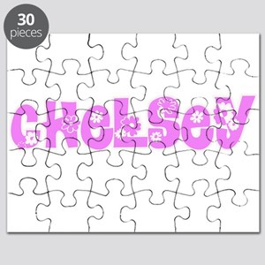 Chelsey Flower Design Puzzle
