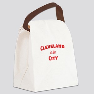 Cleveland Is the City Canvas Lunch Bag