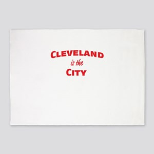 Cleveland Is the City 5'x7'Area Rug