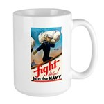 Join the Navy Large Mug