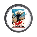 Join the Navy Wall Clock