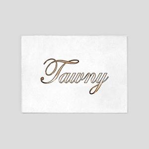 Gold Tawny 5'x7'Area Rug