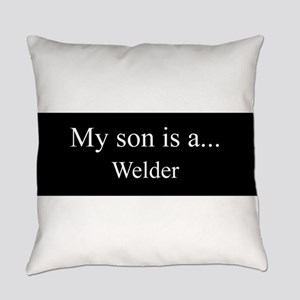 Son - Welder Everyday Pillow