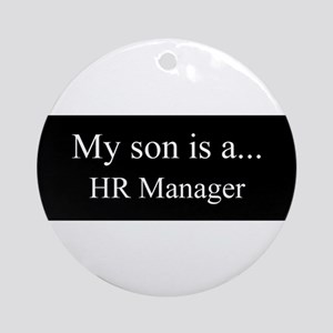 Son - HR Manager Ornament (Round)
