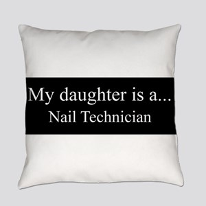 Daughter - Nail Technician Everyday Pillow
